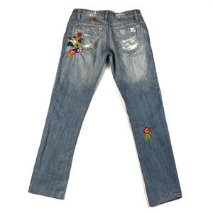 Joe's Jeans Haven Socialite Embroidery Jeans / 25
